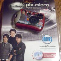 Disney Jonas Brothers Micro Pix Digital Camera