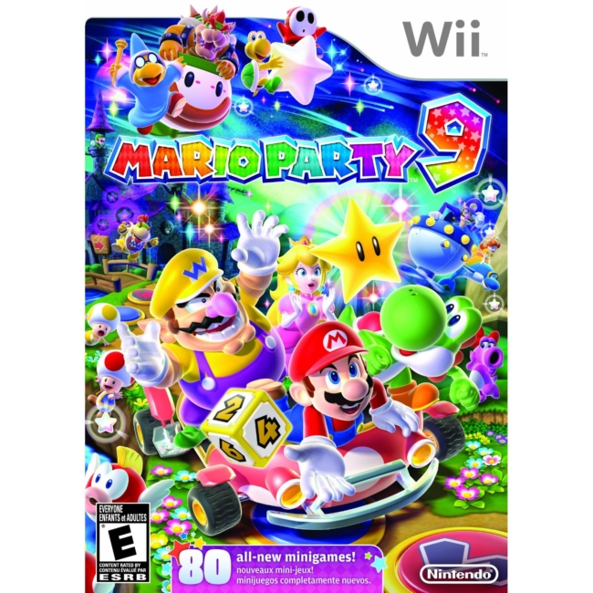 Wii Super Mario Party 9 Video Game