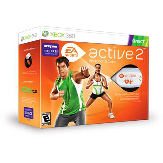 EA Active 2 EXERCISE GAME Video Game FOR XBOX 360 KINECT