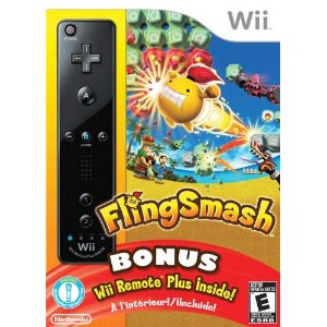 Wii Fling Smash Video Game wth Wii Remote Plus Controller