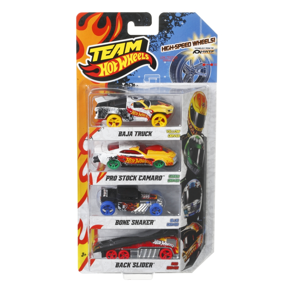 team hot wheels high speed wheels 4 pk gamesplus. Black Bedroom Furniture Sets. Home Design Ideas
