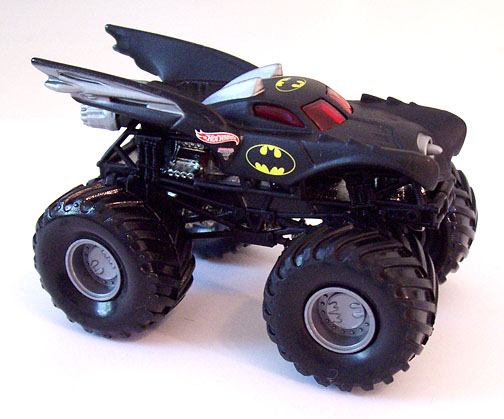 hot wheels monster jam 1 64 scale batman truck gamesplus. Black Bedroom Furniture Sets. Home Design Ideas