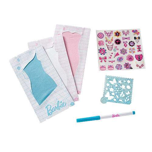 Barbie Fashion Design Studio Dress Refill Pack S Gamesplus