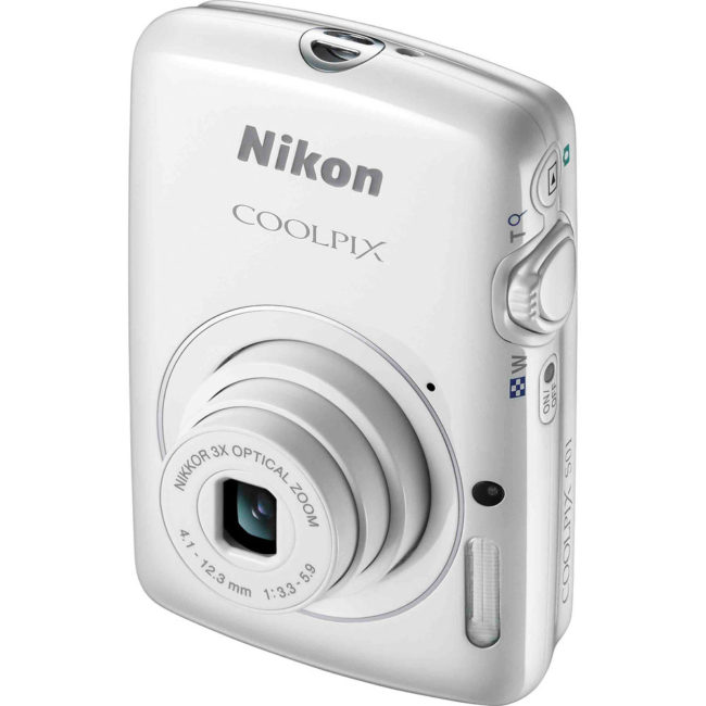 Nikon COOLPIX S01 - White