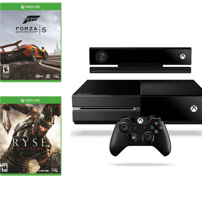 XBOX ONE DAY ONE EDITION Ryse: Son of Rome and Forza 5 ...