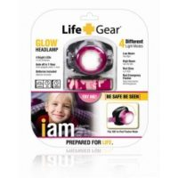 LIFE GEAR GLOW Kid's Headlamp PINK