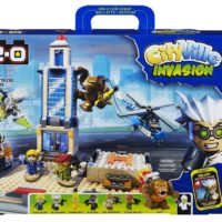 KRE-O CityVille Invasion Skyscraper Mayhem blocks Set