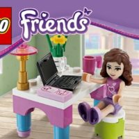 LEGO Friends Olivias Desk