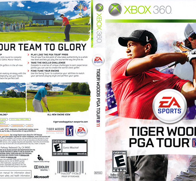 Kinect for Xbox 360 FULL Demo - Tiger Woods PGA …