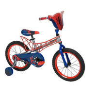 Marvel Spiderman 16'' Bike with Webbed Frame