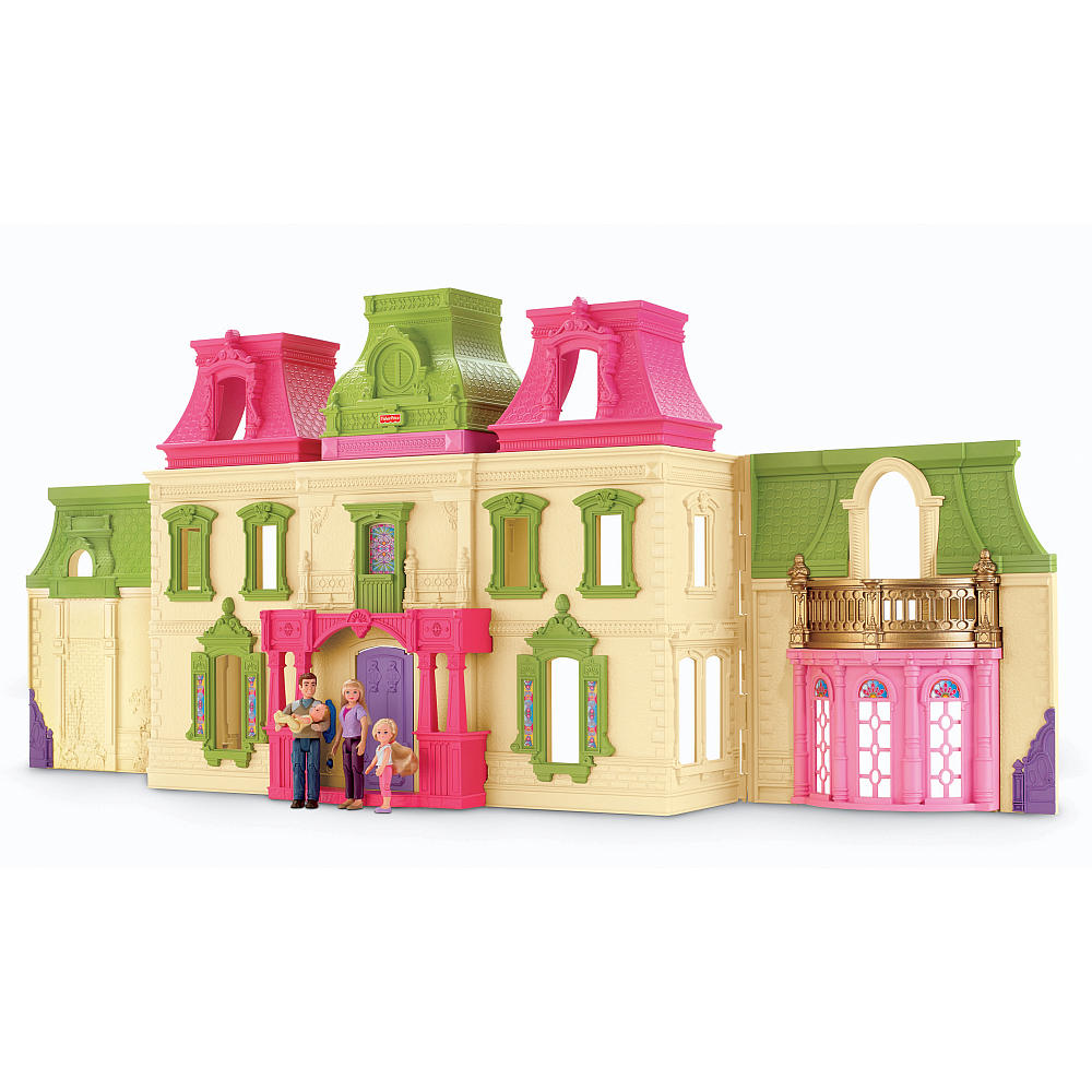 Fisher Price Loving Family Dream Dollhouse on dream room design games