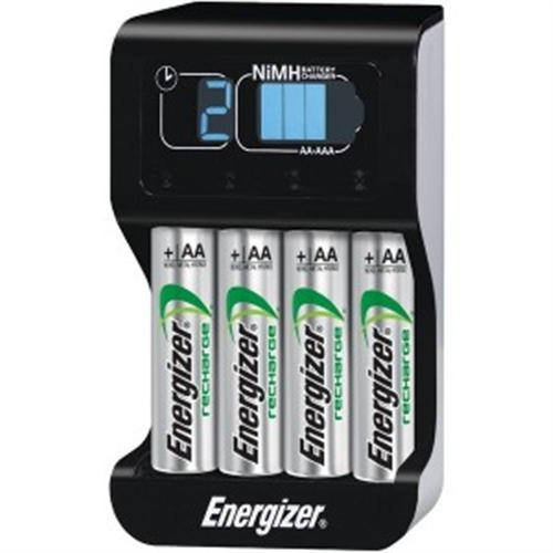 energizer smart charger with 4 rechargeable aa batteries gamesplus. Black Bedroom Furniture Sets. Home Design Ideas