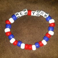 NEW YORK Beaded Bracelet Coco Creations Designs By Abby!