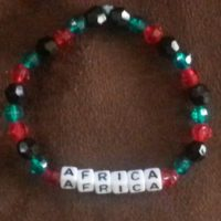 AFRICA Beaded Bracelet Coco Creations Designs By Abby!