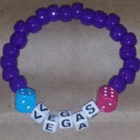 VEGAS Beaded Bracelet Coco Creations Designs By Abby!