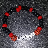 Bulls Beaded Bracelet Coco Creations Designs By Abby!