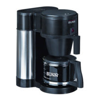 BUNN 10-Cup Commercial Style Coffee Brewer Coffeemaker