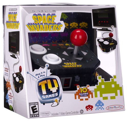 Tv Games Plug And Play : Space invaders plug play tv game gamesplus