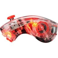 PDP AfterGlow Wii/Wii U Nunchuk Red