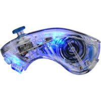 PDP AfterGlow Wii/Wii U Nunchuk Blue