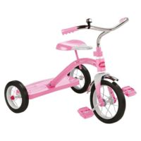 """Radio Flyer Girl's Classic 10"""" Tricycle Pink"""