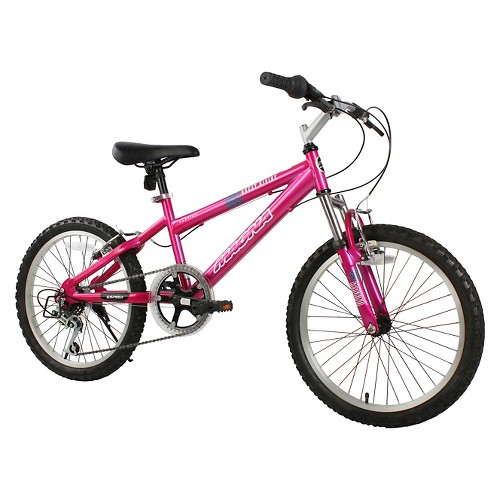 Girls Magna Great Divide Bike Pink 20-6476