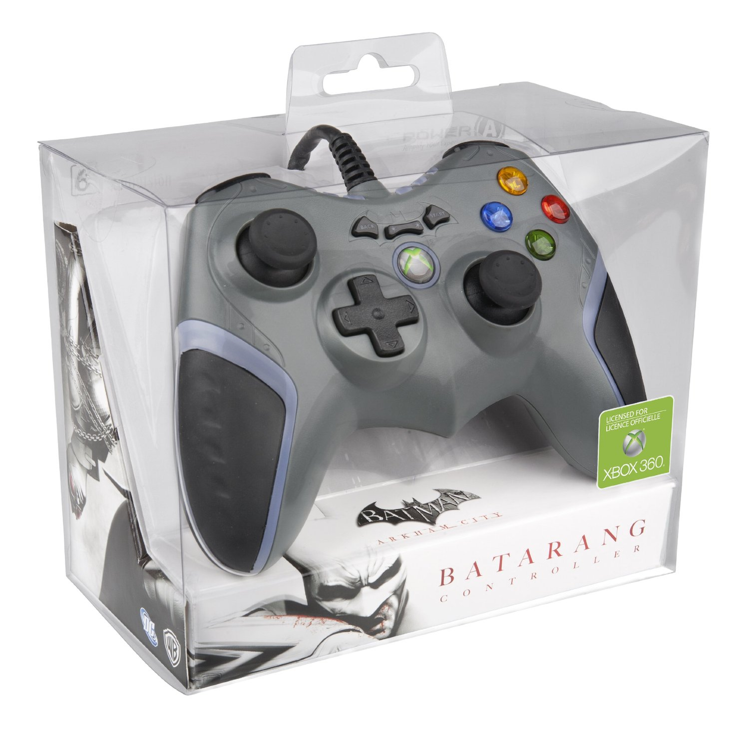 Batman Arkham City Batarang Wired Controller Xbox 360 - GamesPlus