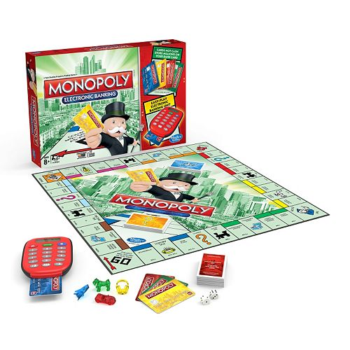 Monopoly Electronic Banking Game Gamesplus