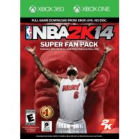 NBA 2K14 Super Fan Pack Xbox ONE & 360
