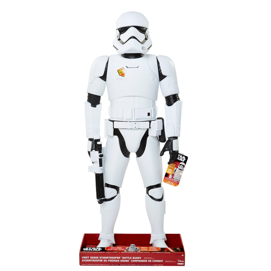 Toys That Are 48 20 : Star wars vii stormtrooper inch battle buddy figure