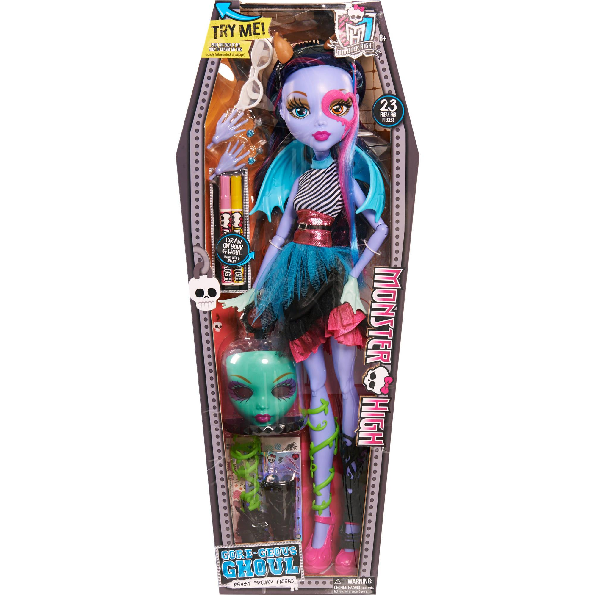Monster High Toys : Monster high quot voltageous ghoul friend doll gamesplus