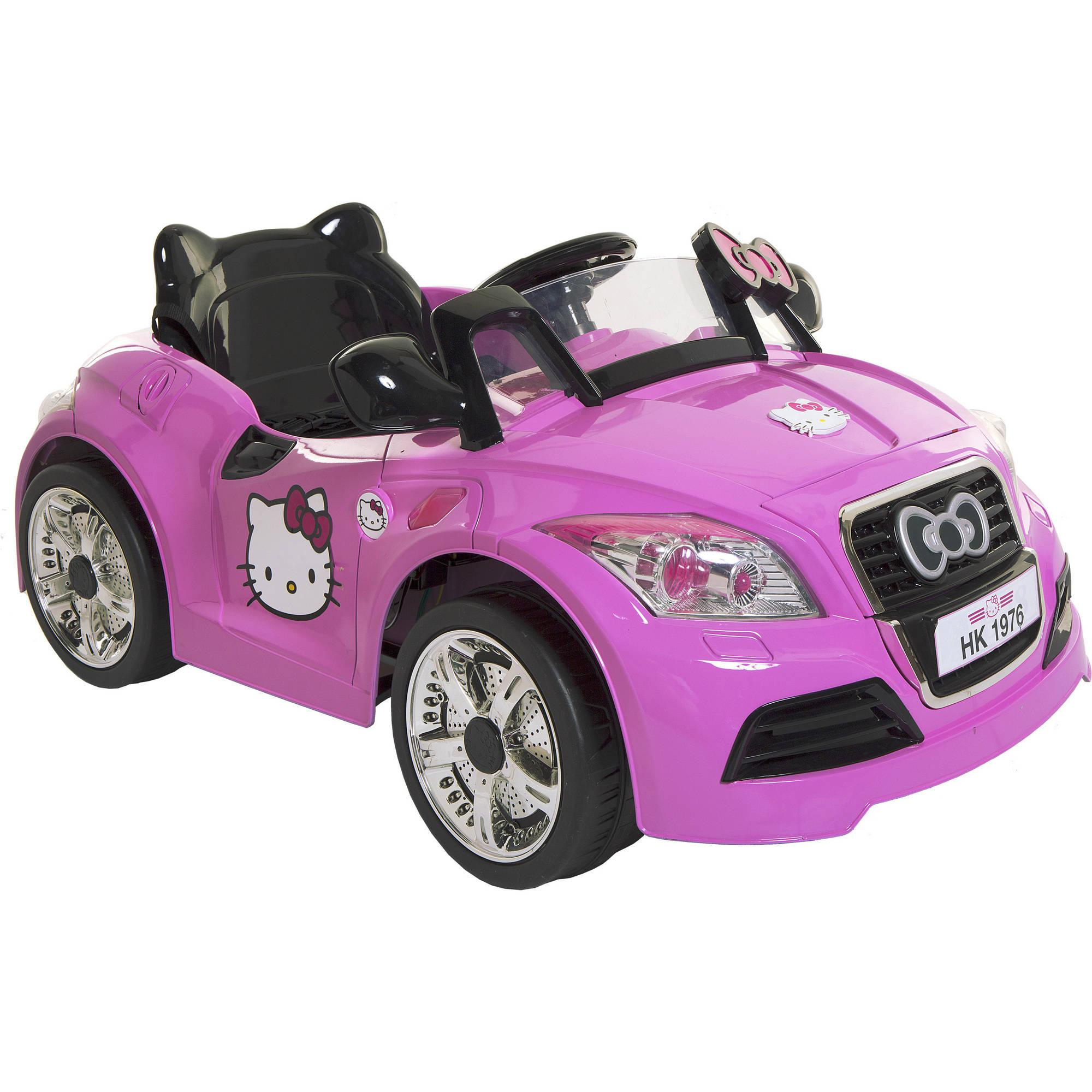 Hello Kitty 6V Sports Car Power Ride-On