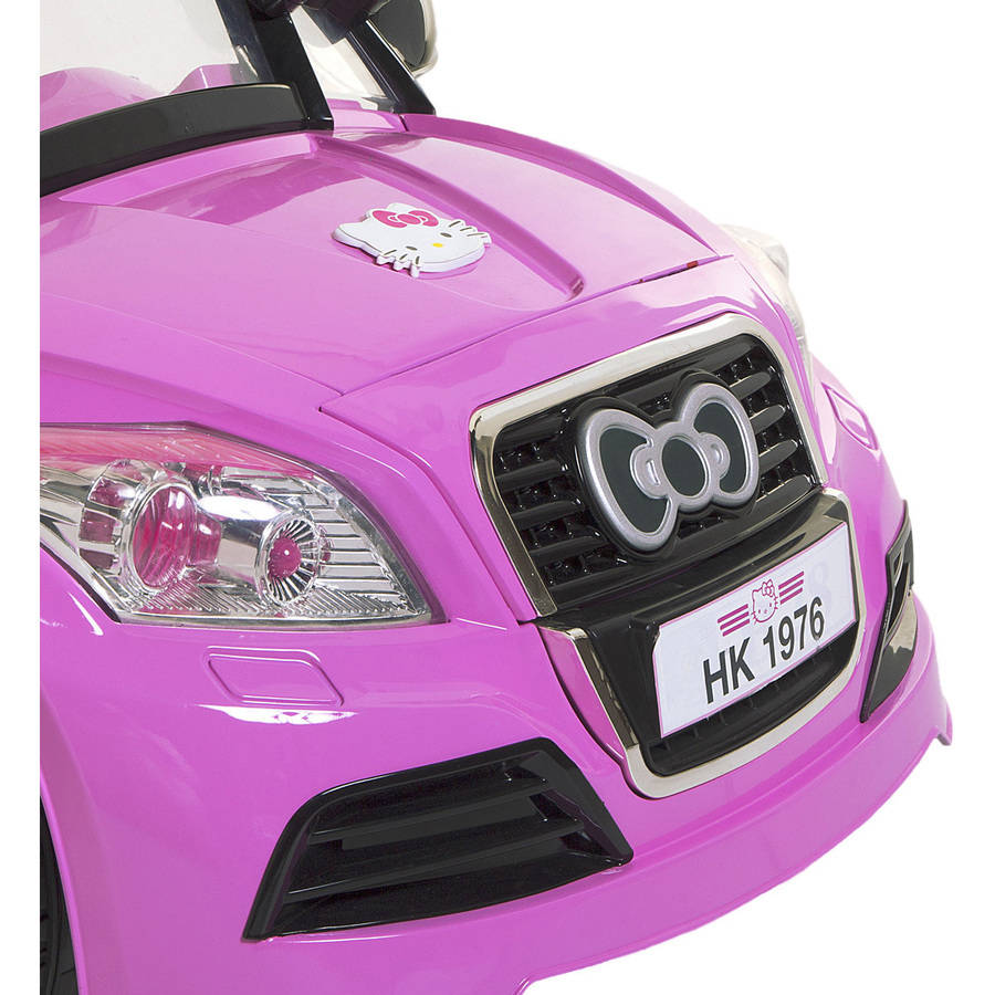 Dynacraft Hello Kitty V Sports Car Battery Powered Ride On