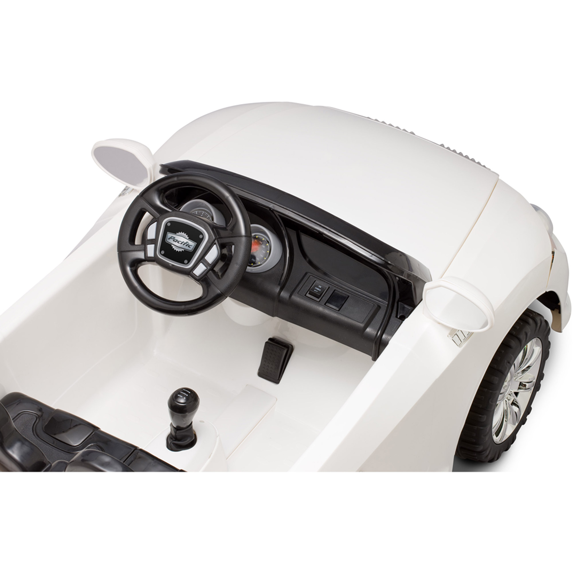 pacific cycle 12 volt battery powered convertible sports car ride on