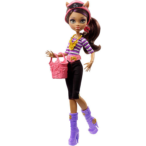 Monster High Shriekwrecked Shriek Mates Clawdeen Wolf Doll