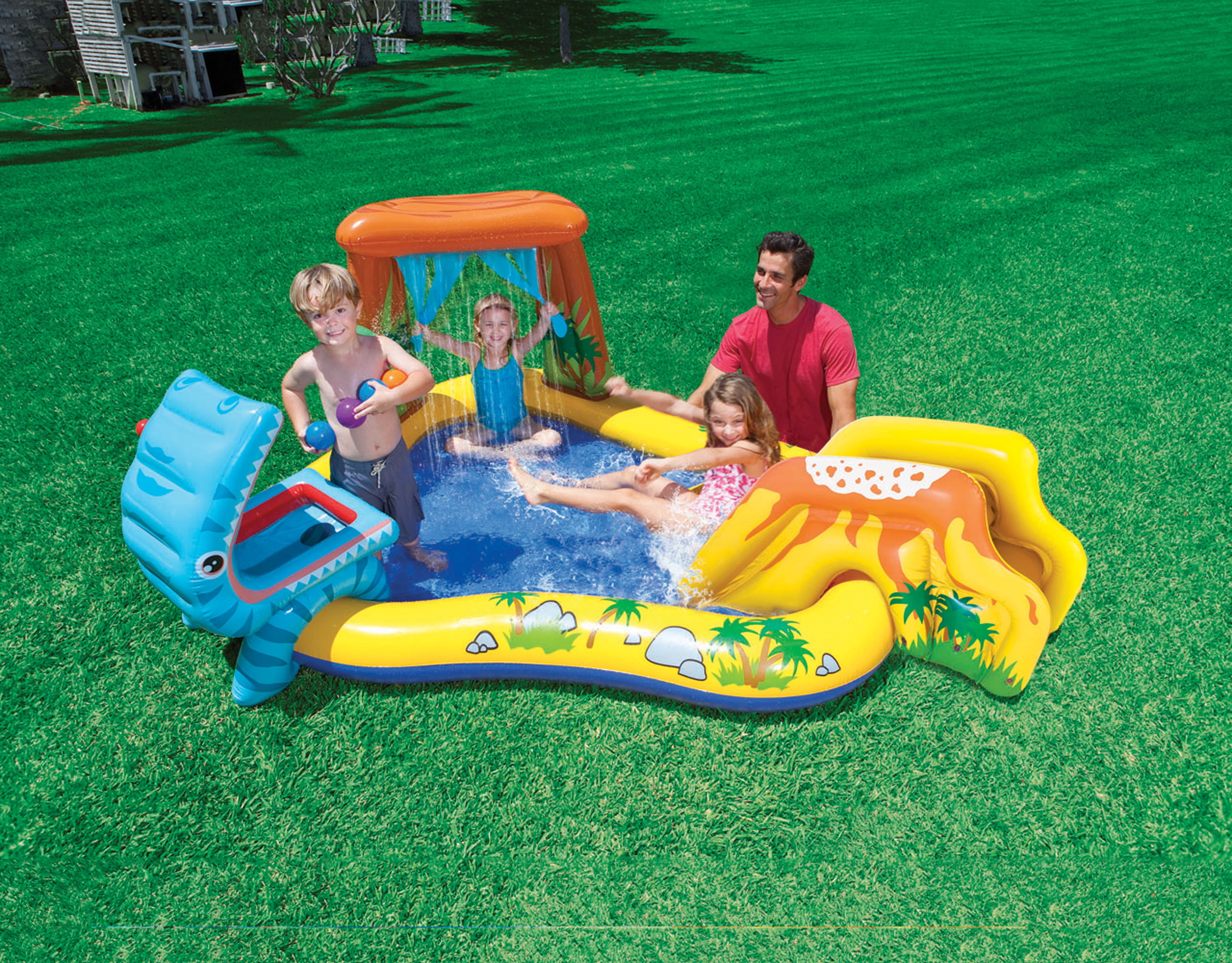 Intex Dinosaur Kiddie Swimming Pool Play Center