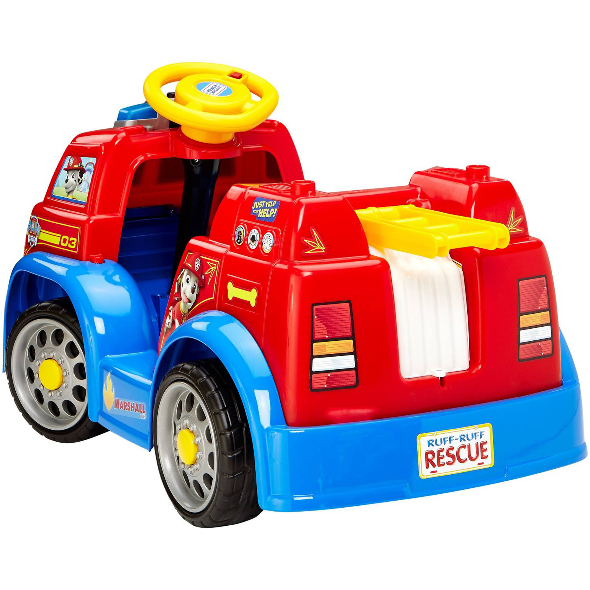Fisher-Price Power Wheels PAW Patrol Fire Truck Battery Powered Ride-On