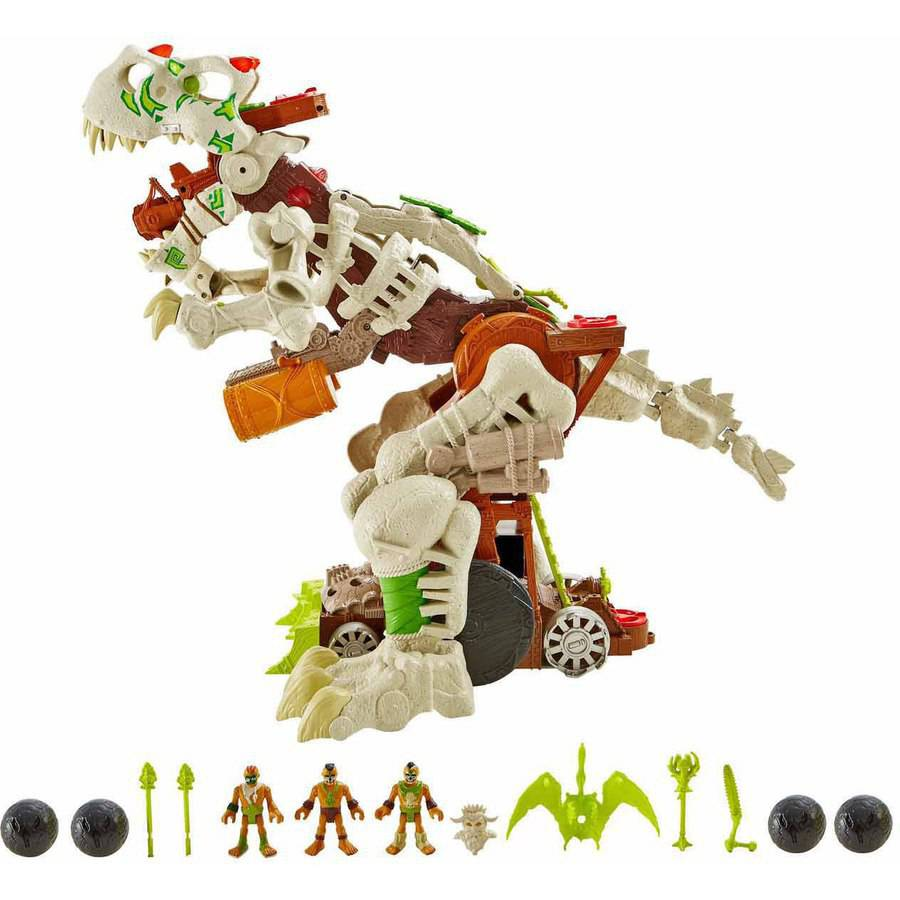 imaginext ultra t rex ice instructions
