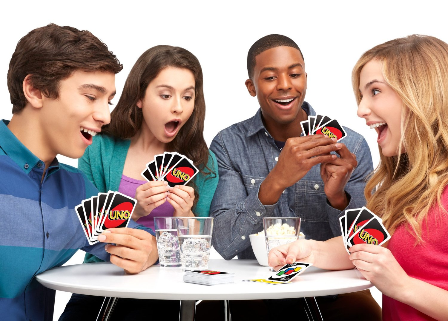Who plays card games