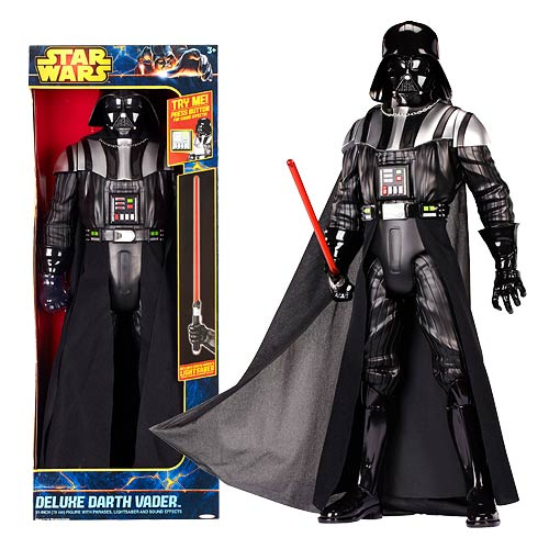 Star Wars Darth Vader with Lightsaber and Sounds 31-Inch Deluxe Action Figure