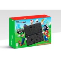New Nintendo 3DS Super Mario Black Limited Edition