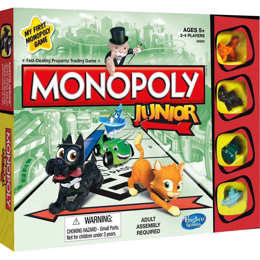 Hasbro Monopoly Jr Junior Board Game