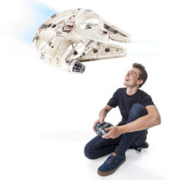Star Wars Remote Control Millennium Falcon XL Flying Drone QuadCopter 2.4 GHz
