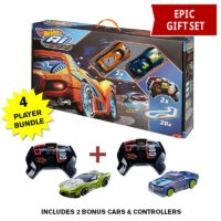 Hot Wheels A.I. Intelligent Race Track System RC Starter Kit with 4 Cars