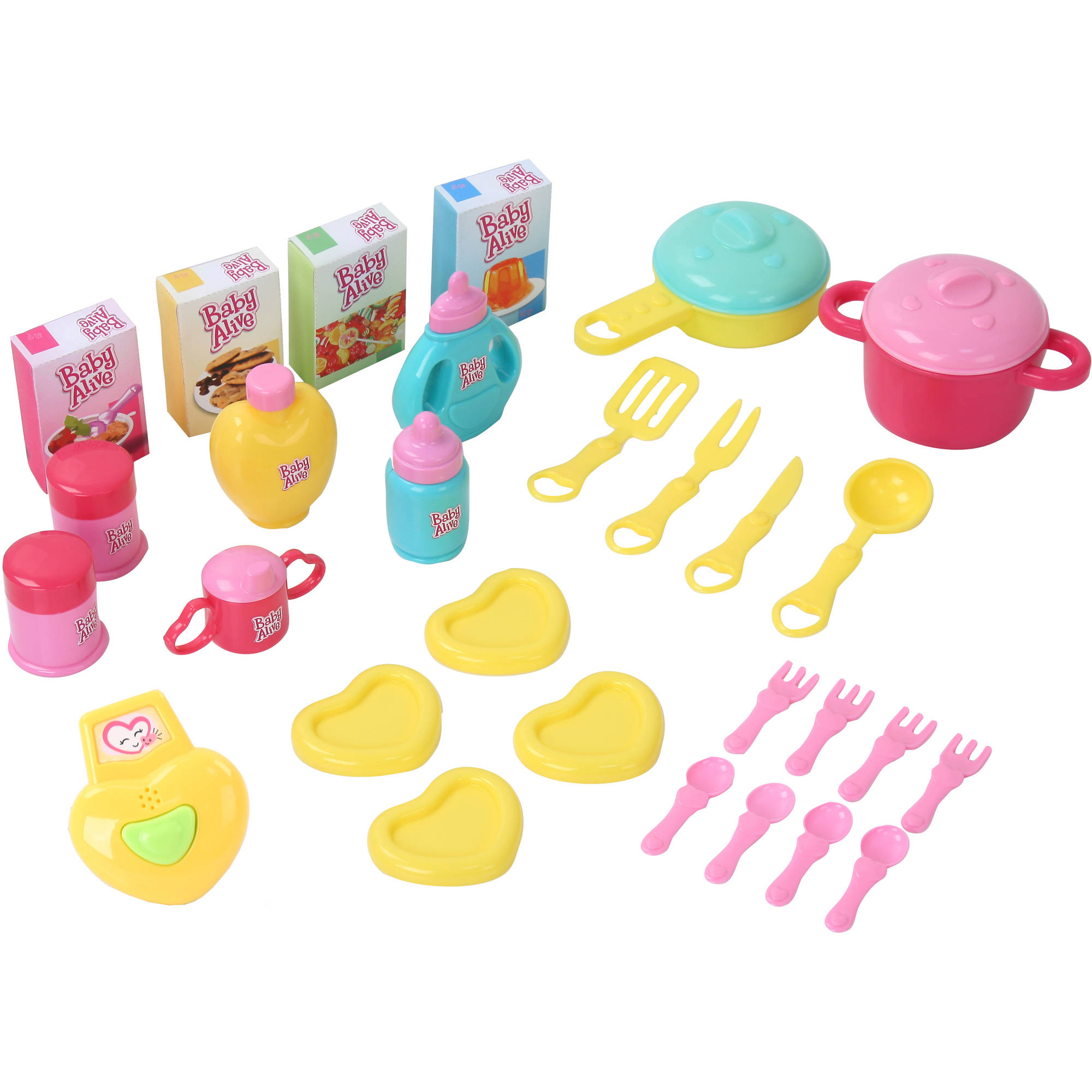Baby Alive Doll 3-in-1 Cook \'n Care Kitchen Set
