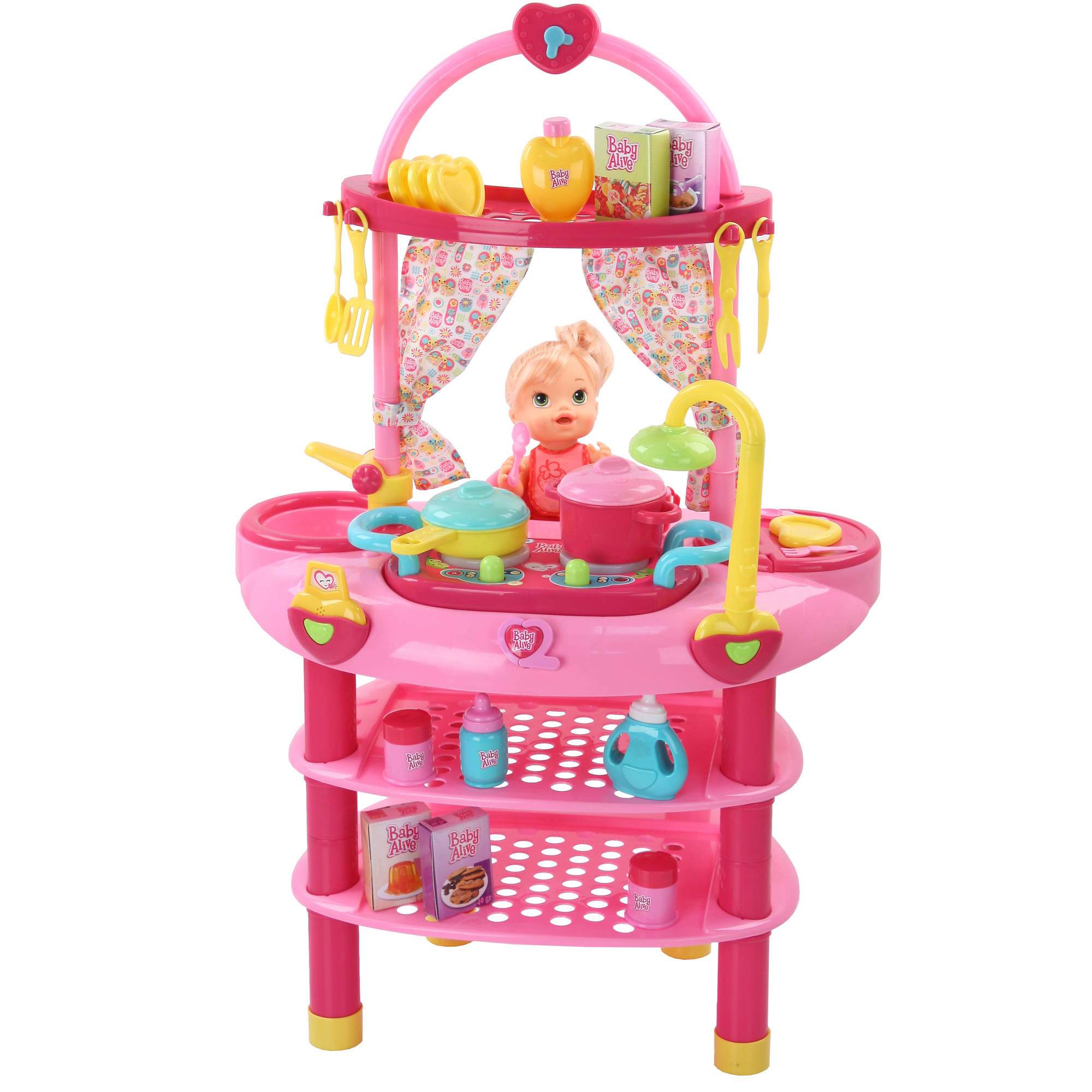 Baby Alive Doll 3 in 1 Cook n Care Kitchen Set