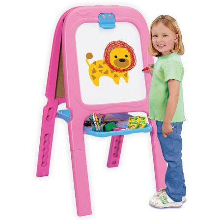 crayola 3 in 1 double easel with magnetic letters crayola 3 in 1 pink easel magnetic erase and 21223 | car 1