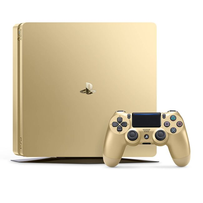 PlayStation 4 1TB Limited Edition Gold Console 3002191 PS4