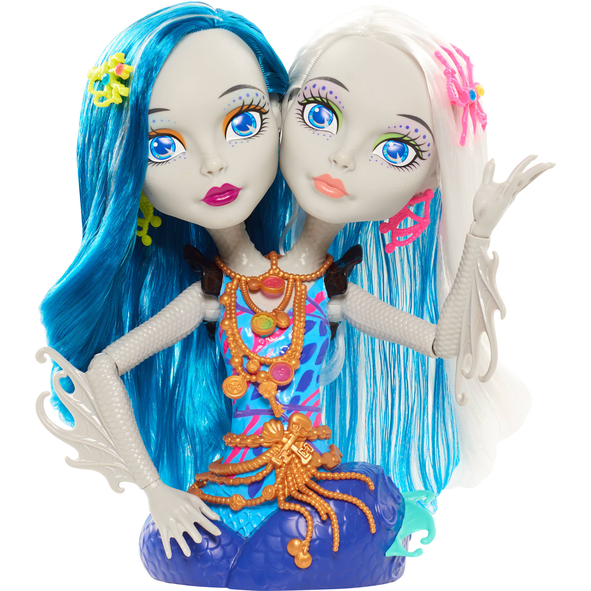 Peri Towels Home Goods: Monster High Peri And Pearl Serpentine Styling Head
