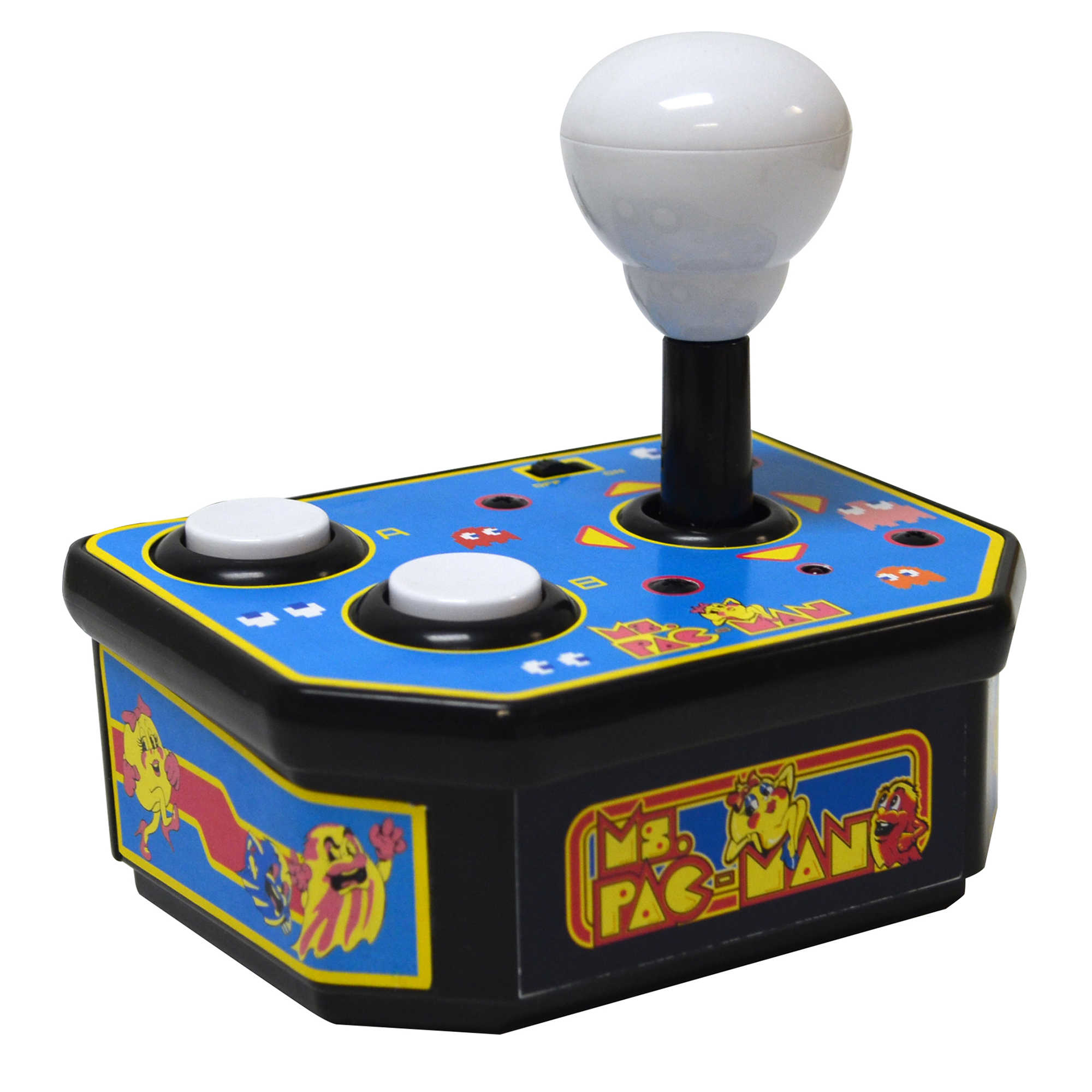 ms pac man plug and play classic arcade game. Black Bedroom Furniture Sets. Home Design Ideas